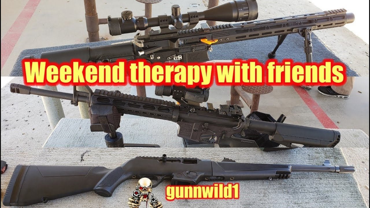 Weekend therapy with friends