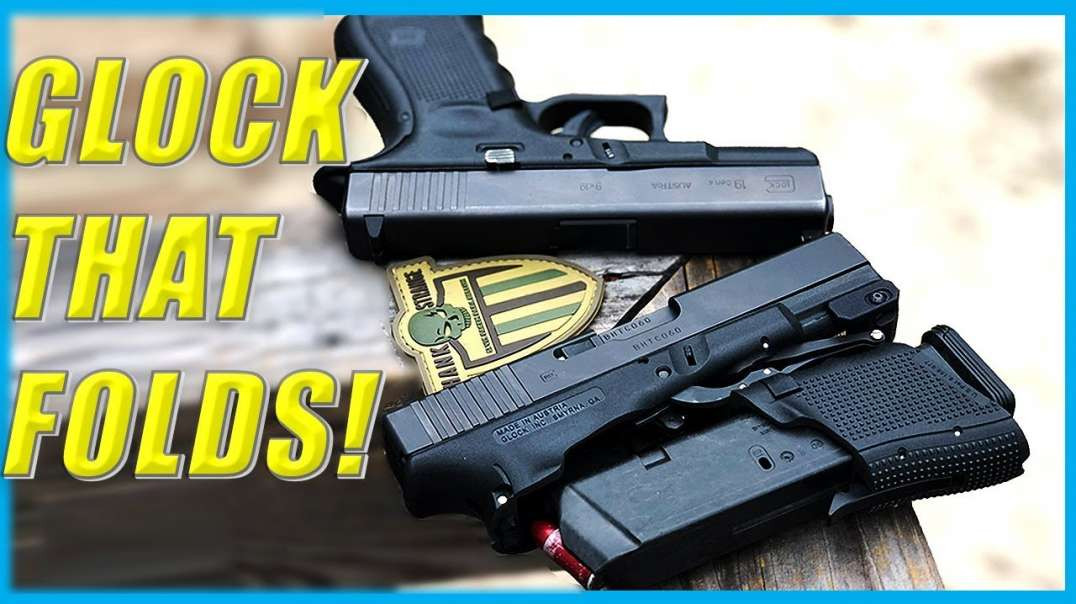 Folding Glock // Best Concealed Carry Handgun? //  Full Review G19 M3D Full Conceal