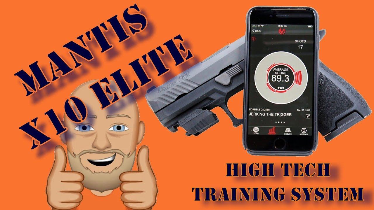 Mantis X10 Elite Live Fire Training