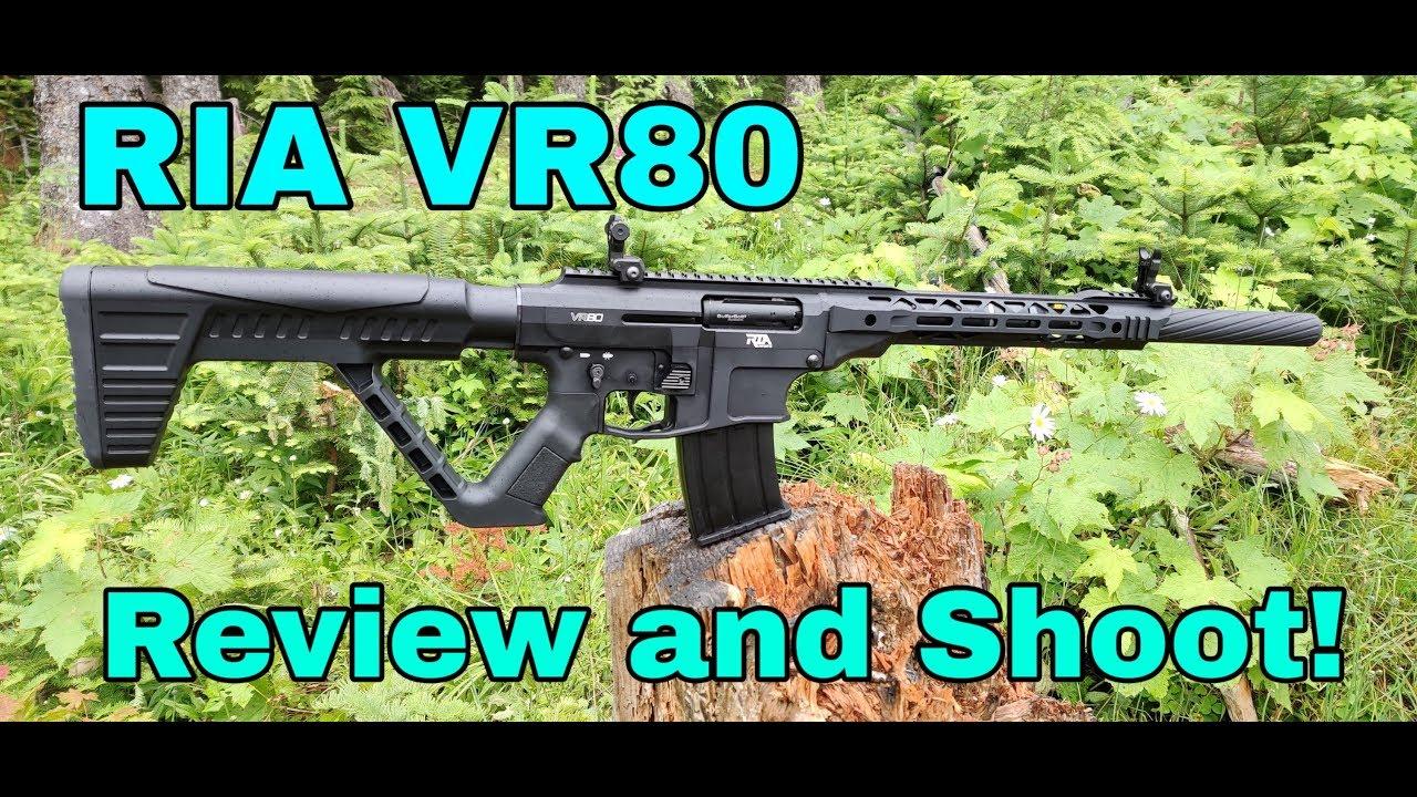 RIA - Rock Island Armory VR80 / AR-15 style shotgun
