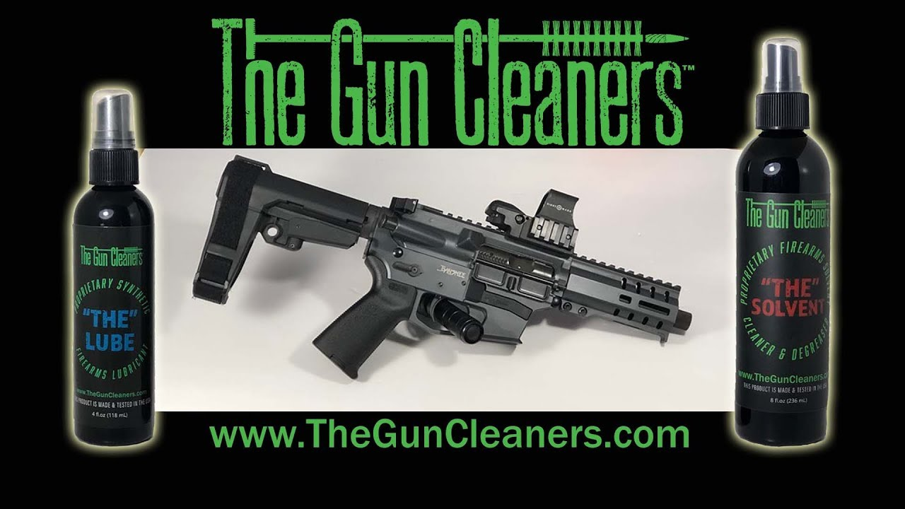 Learning How to Clean my AR with The Gun Cleaners
