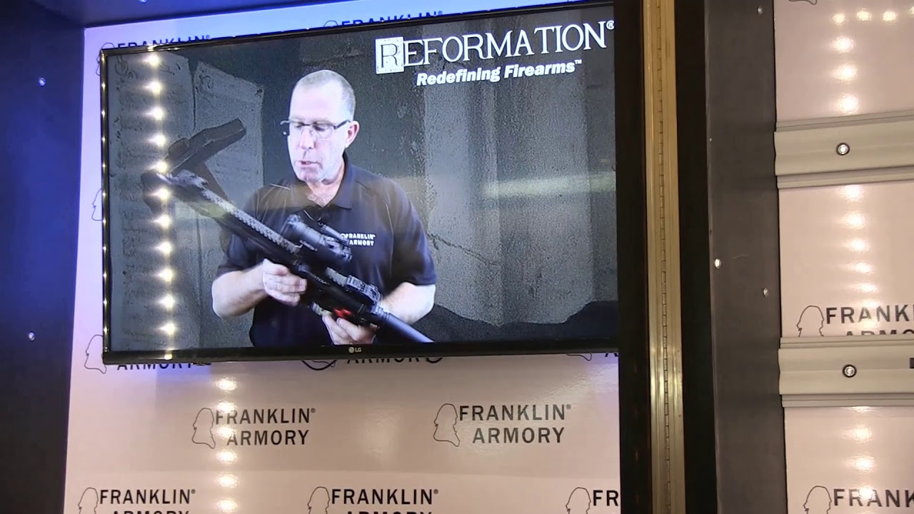 Franklin armory Reformation Reveal at Shot Show 2018