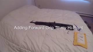 Adding a Forward Grip to my Hi-Point