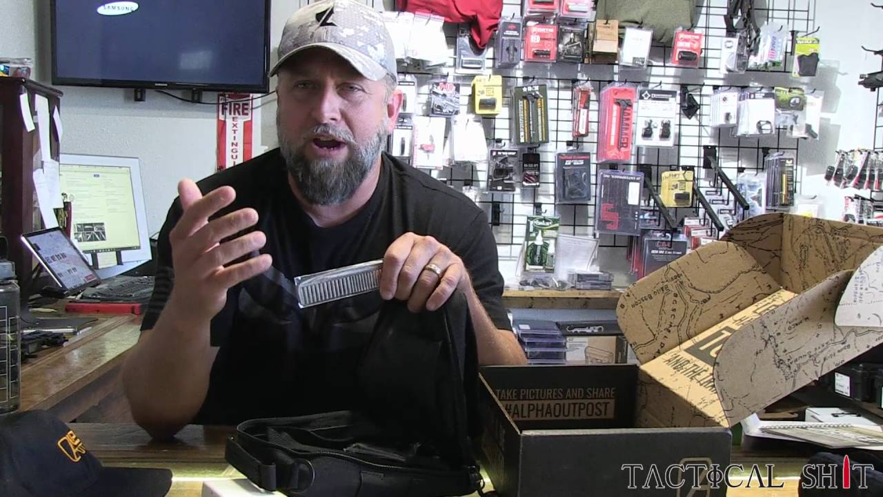 June's Box from Alpha Outpost unboxing video with TJ from Tactical Shit