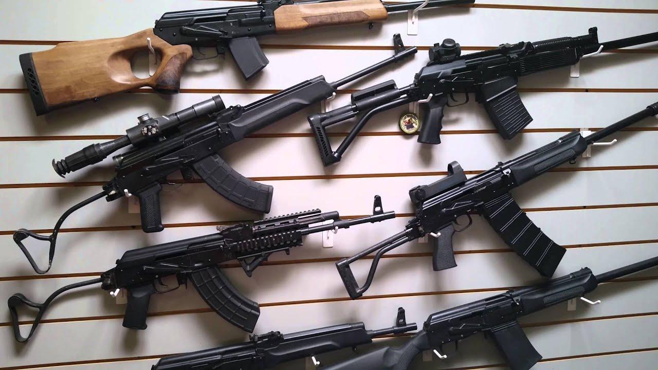 Commercial Russian Kalashnikovs