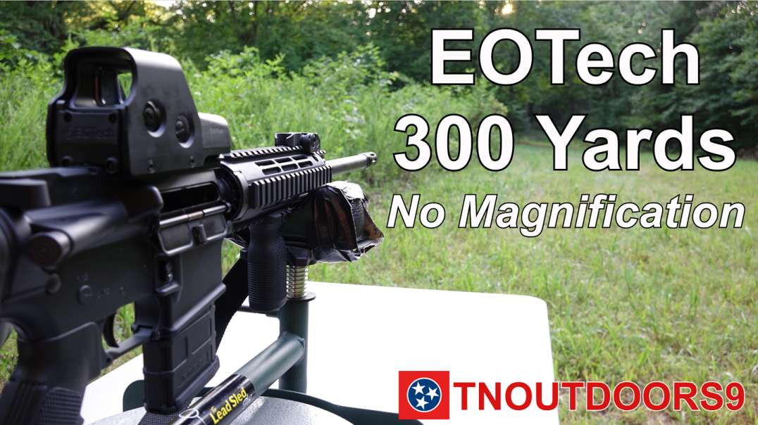 EOTech Holographic Sight @ 300 Yards (No Magnification)