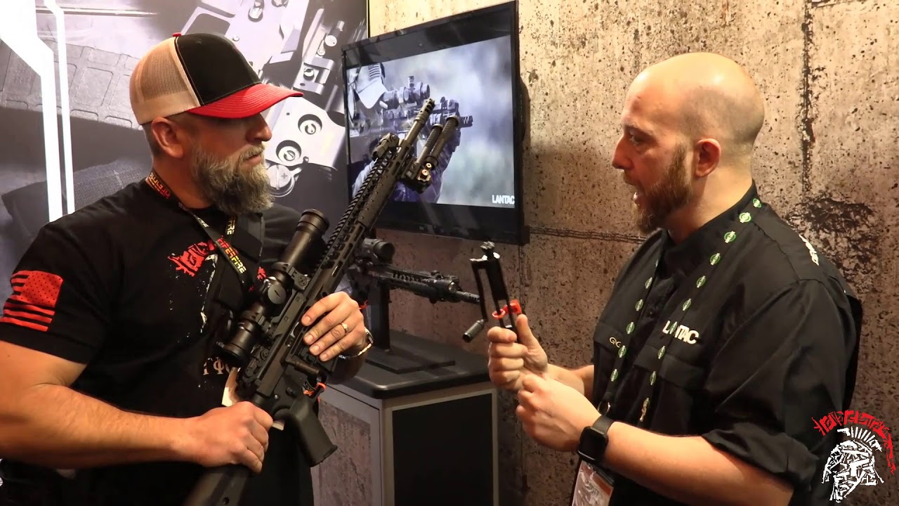 Lantac  Bolt Action BCG At Shot Show 2018