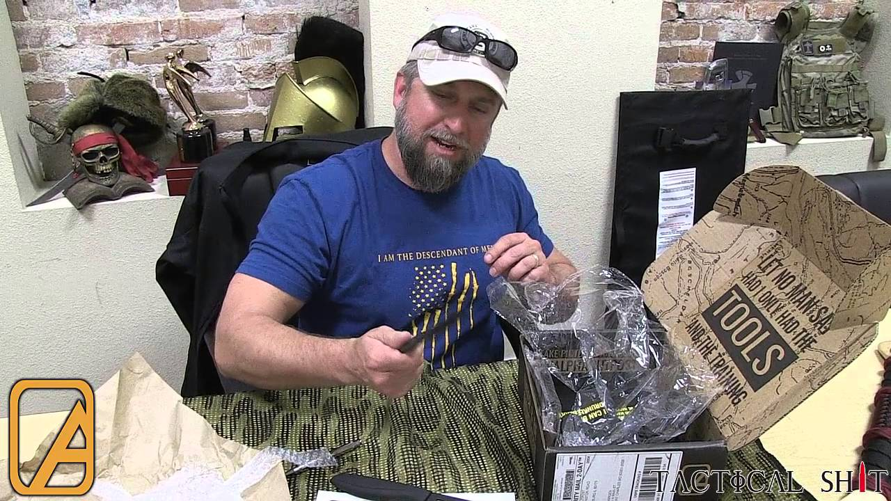 Alpha Outpost unboxing video with TJ from Tactical Shit