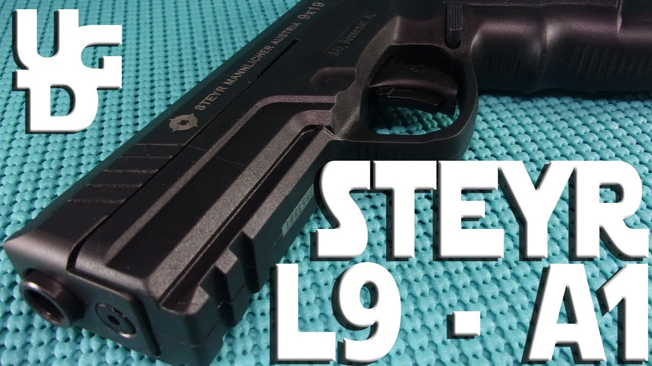 Steyr L9 A1 1st Look Review, 9mm & I Feel Like I Need to Fly a Colonial Viper