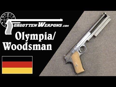 Walther Experimental Hybrid Olympia/Woodsman
