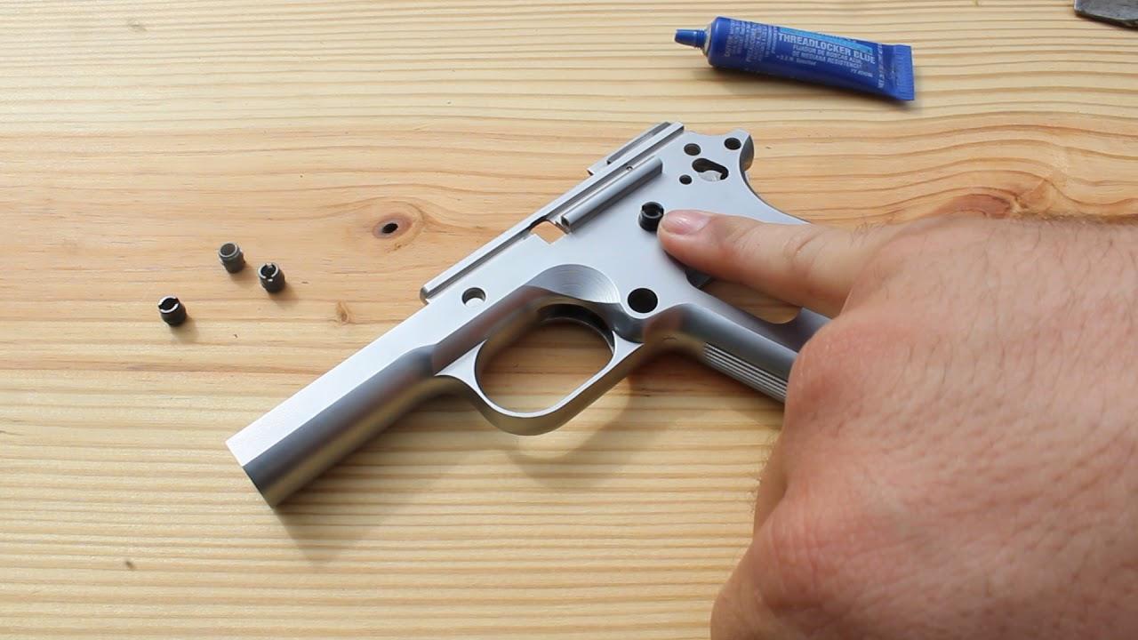 1911 Build Series - Grip Screw Bushings