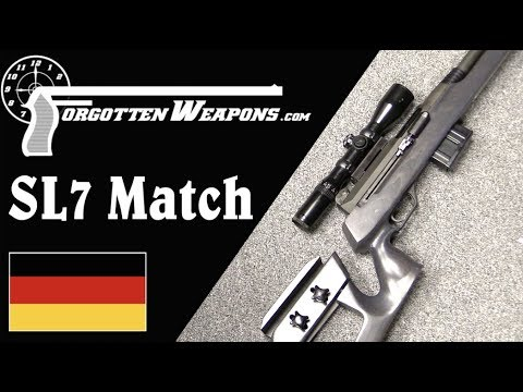 H&K Prototype Sniper: the SL7 Match