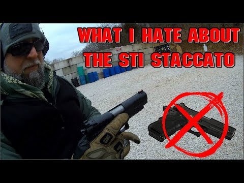 What I Hate About The STI Staccato C