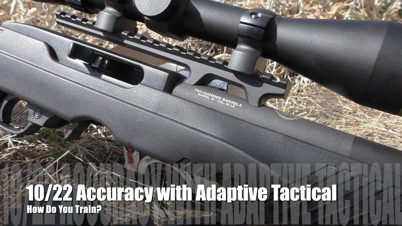 .22lr Accuracy with Adaptive Tactical - WE TRAIN!