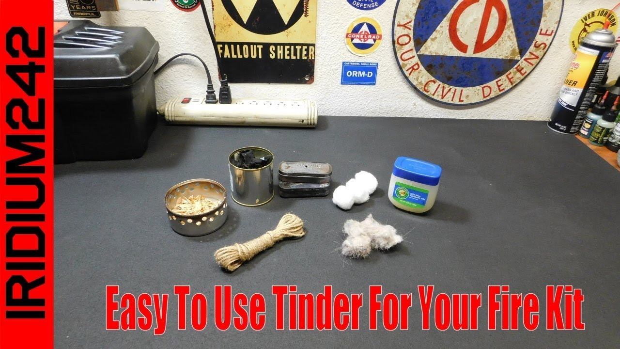 Some Examples Of Easy To Use Tinder For Your Fire Kit