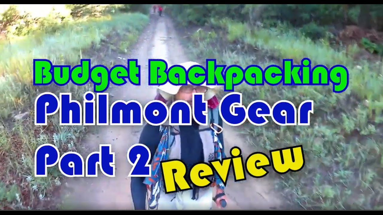Budget Backpacking - Philmont Trek Gear Review - Part 2