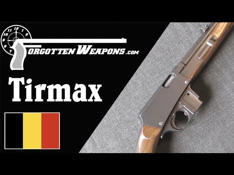 Tirmax: A Pre-WW1 .32ACP Light Carbine