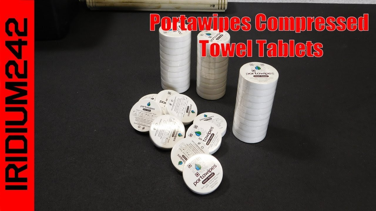 Portawipes Compressed Towel Tablets: Perfect For Your BOB