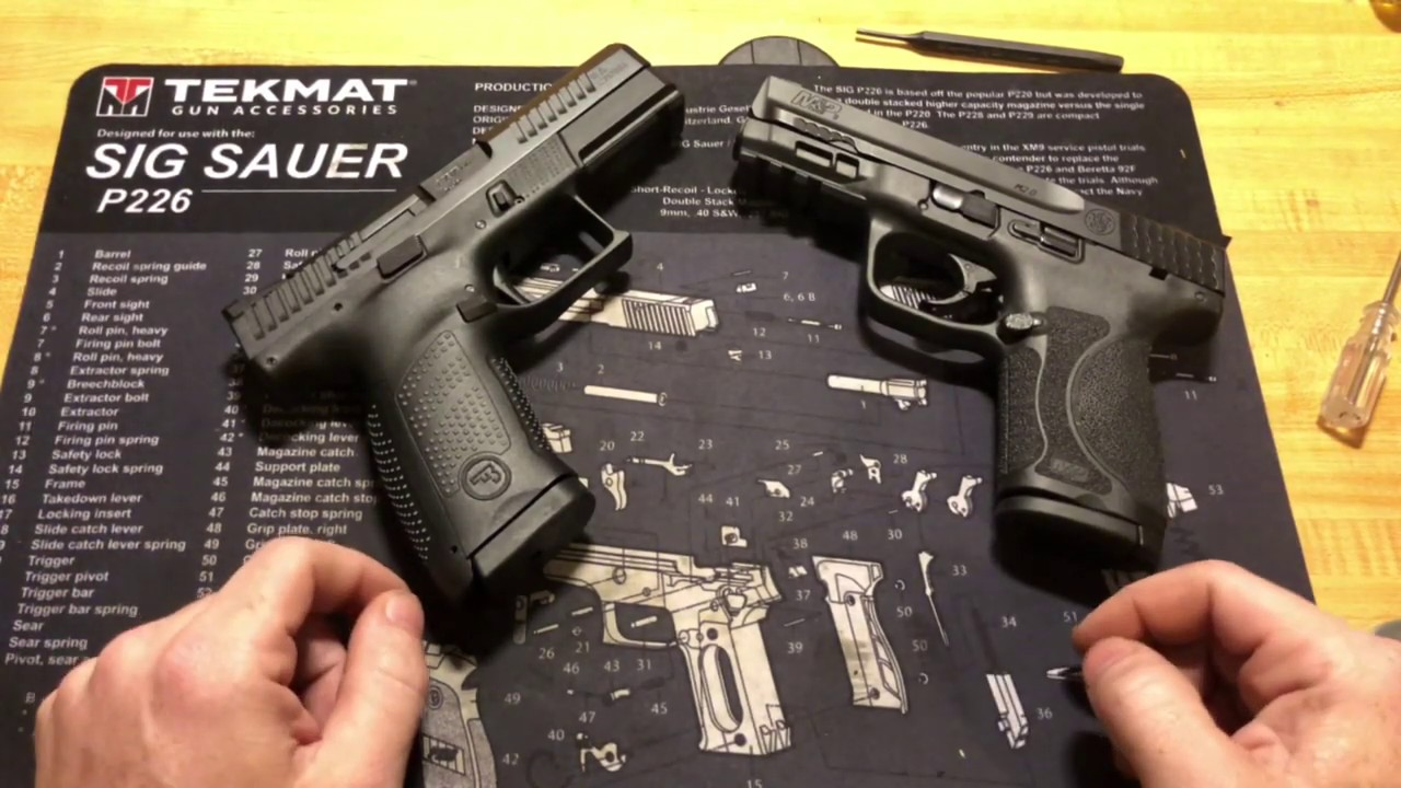 CZ P10c vs M&P 2.0 Compact