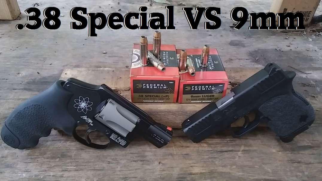 Short Barrels: 9mm VS .38 Special Ep.5- Federal Hydrashok
