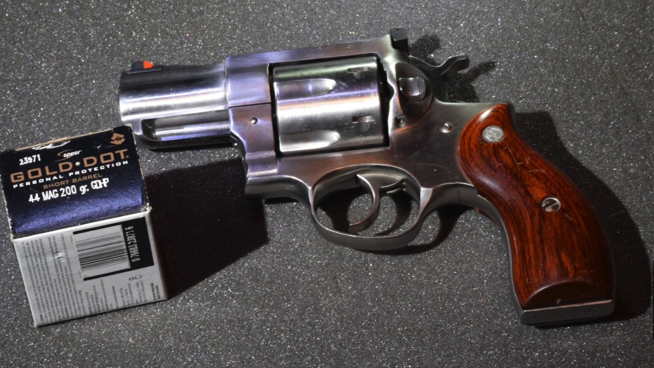 .44 Magnum Speer Gold Dot Short Barrel Ruger Redhawk Review
