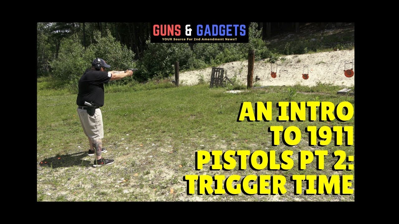 An Intro to 1911 Pistols - Pt 2: Trigger Time