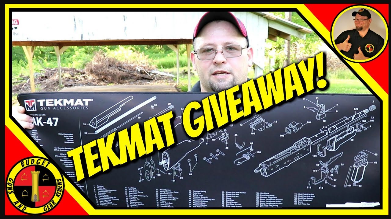 TekMat Giveaway!