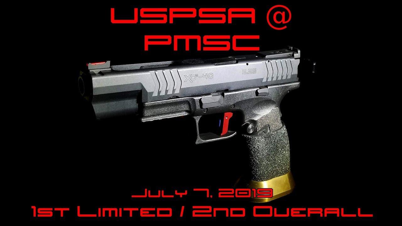 USPSA @ PMSC - July 7, 2019 - Limited