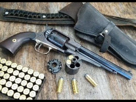 Shooting The Pietta 1858 Remington .45 LC Kirst Conversion