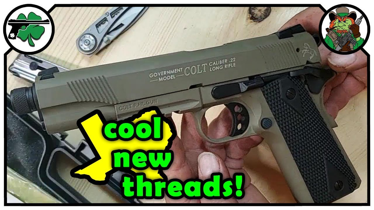 22 Caliber Colt 1911A1 Thread Adapter From United Defense
