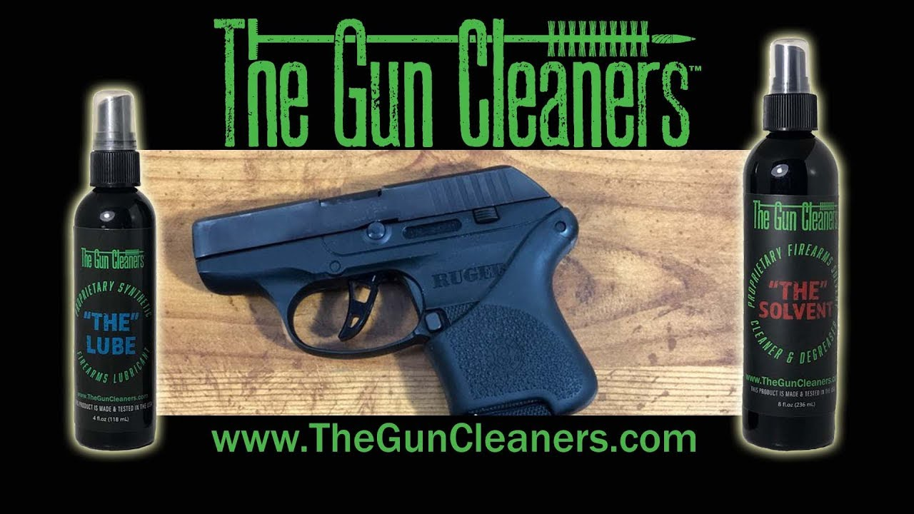 Learning How to Clean the Ruger LCP with The Gun Cleaners