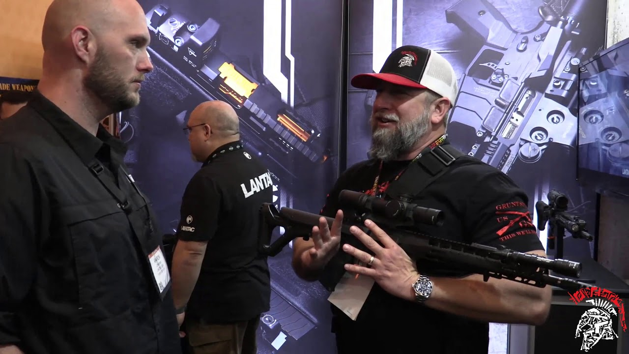 The Lantac Onyx and some Badass Pins at Shot Show 2018