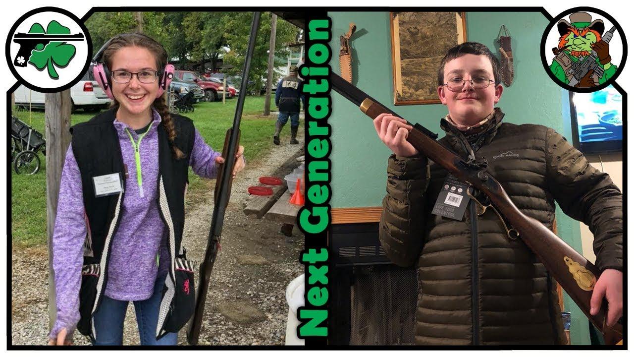 Hanna & Andrew Davies Muzzleloader Shotgun Competitors - Next Generation Podcast