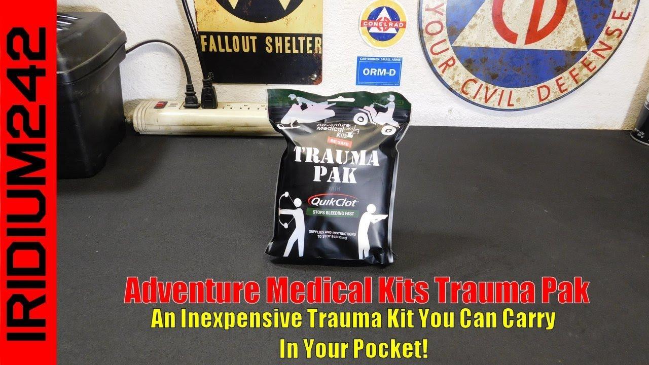 Adventure Medical Kits Trauma Pak: Great Kit!
