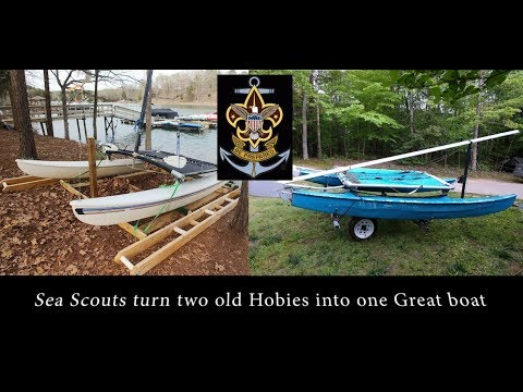 Hobie Cat 14 donated sailboats - Sea Scouts
