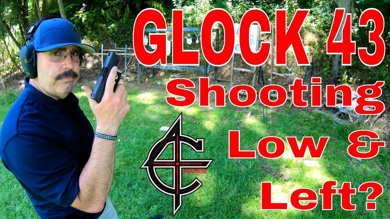 Glock Shooting Left?