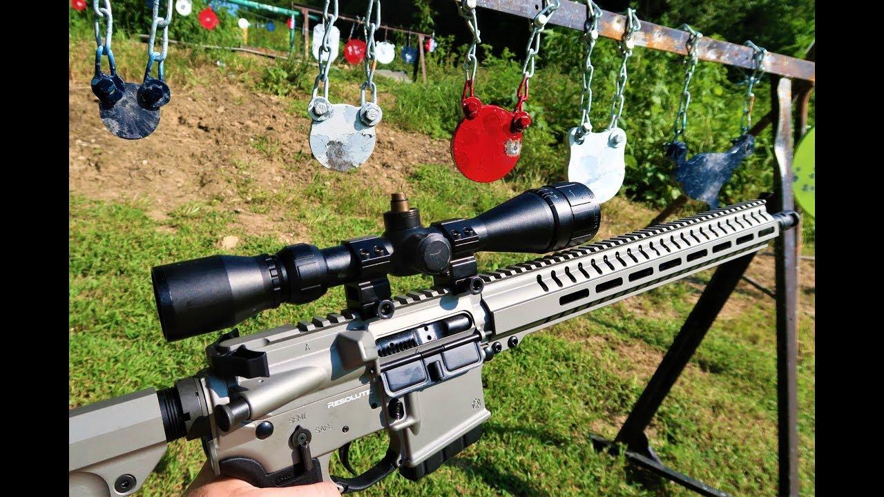 350 Legend AR at the range - CMMG