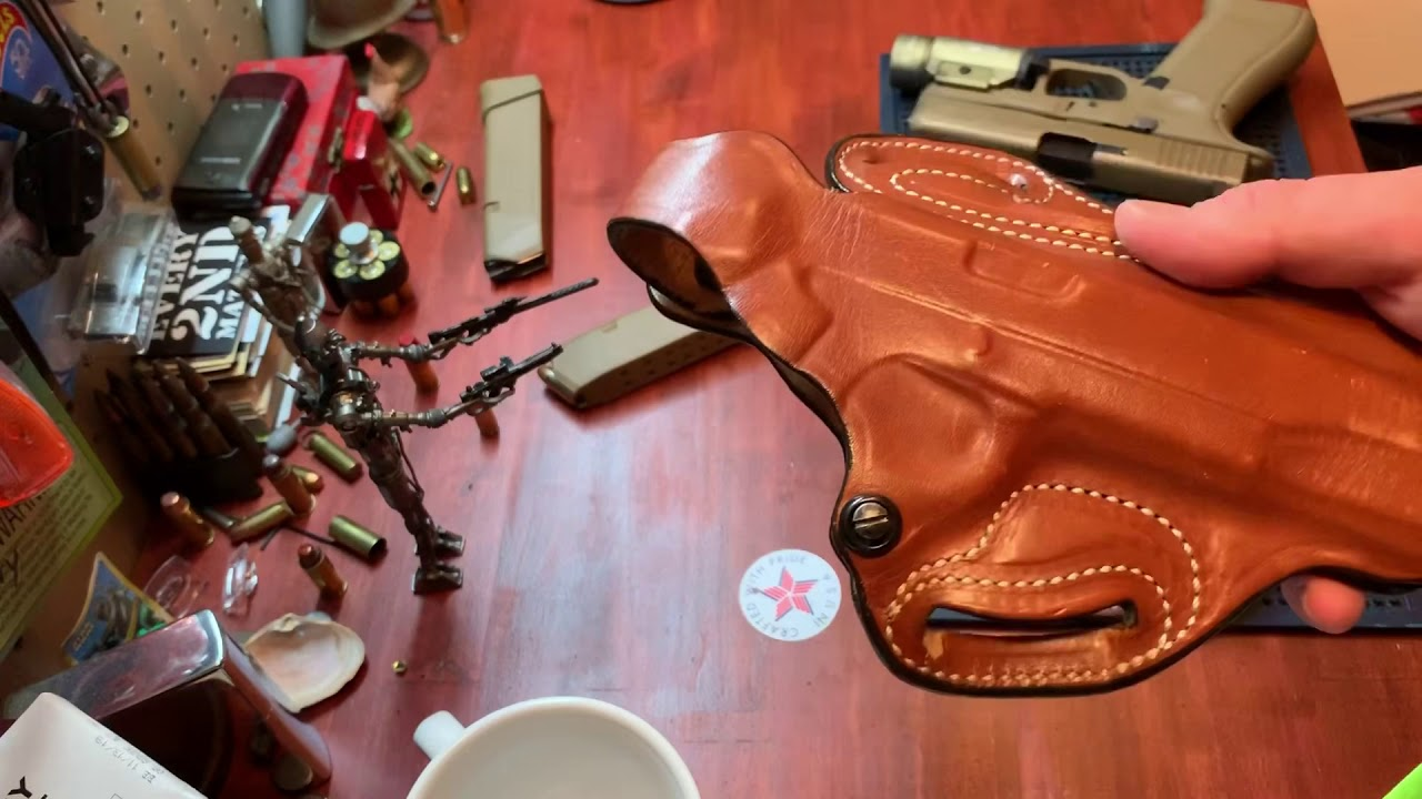 Full review of the DeSantis TAC-LITE belt holster featuring the Glock 19x