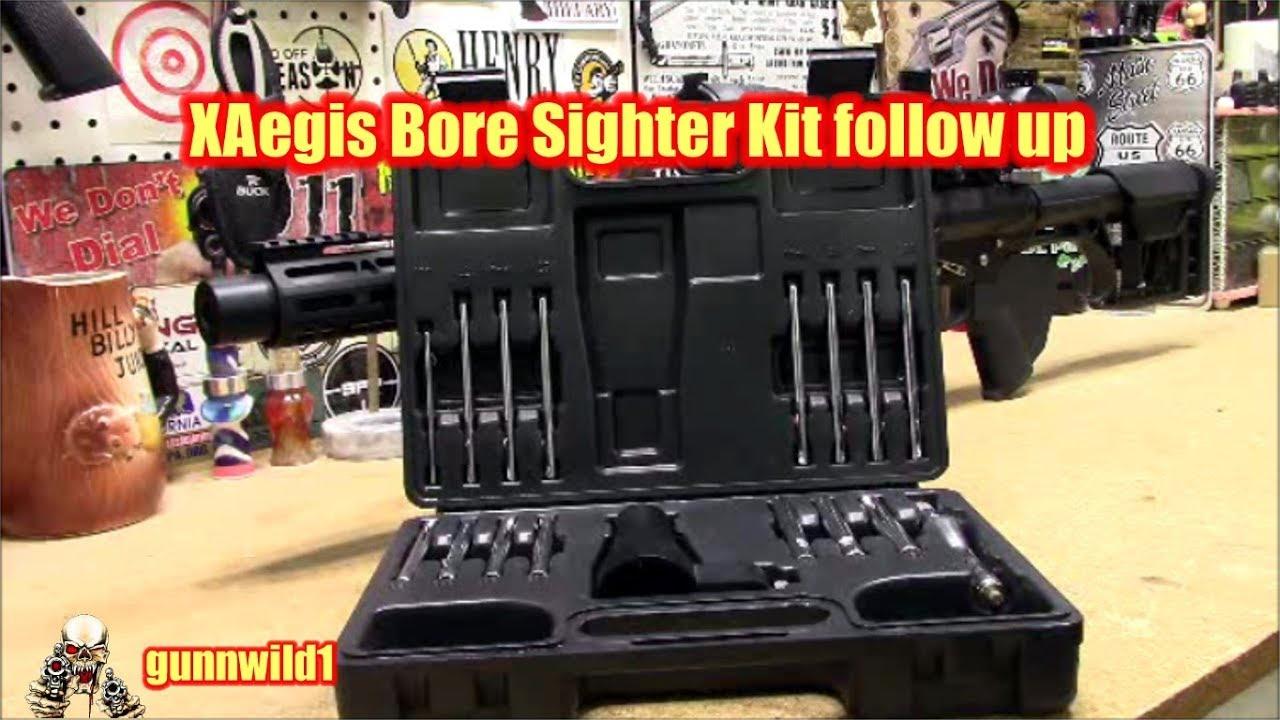 XAegis Bore Sighter follow up