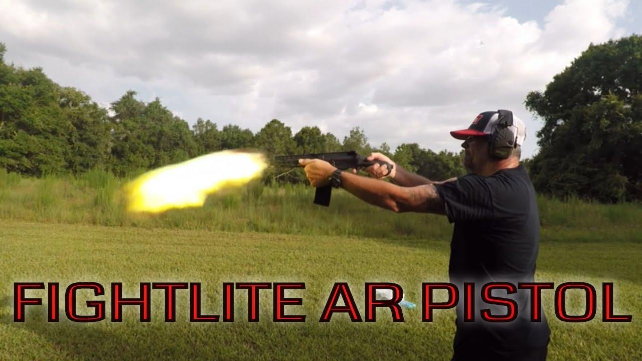 Fightlite Industries / Raider / AR Pistol / 5.56