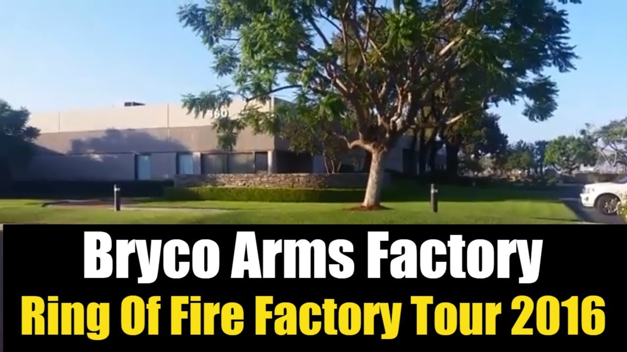 Bryco Arms Factory - Ring Of Fire Factory Tour 2016 - Classic GunWebsites Vintage Video