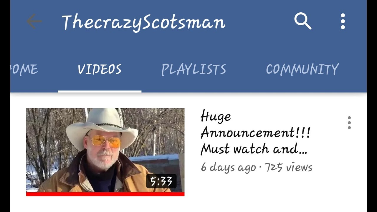 ThecrazyScotsman its all about Jack