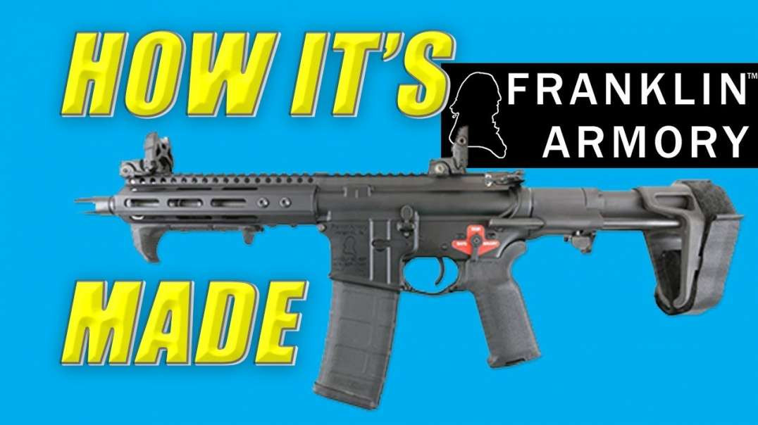How It's Made: PDW C7 Pistol from Franklin Armory