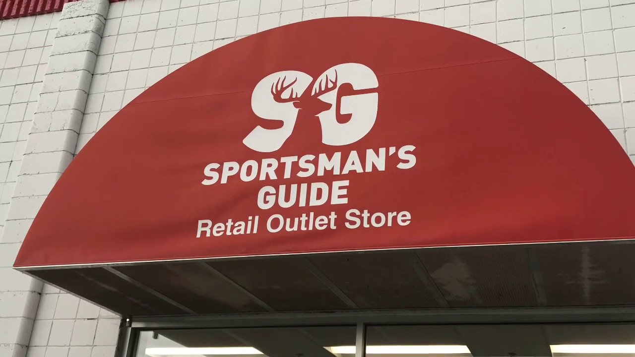 Sportsman's Guide Retail Outlet Store Tour