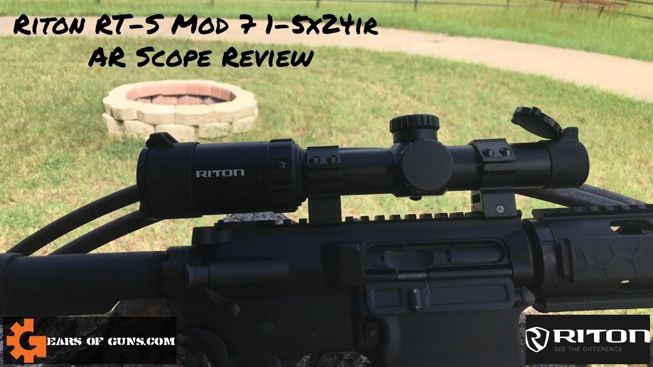 Riton RT-S  Mod 7 1-5x24IR Review