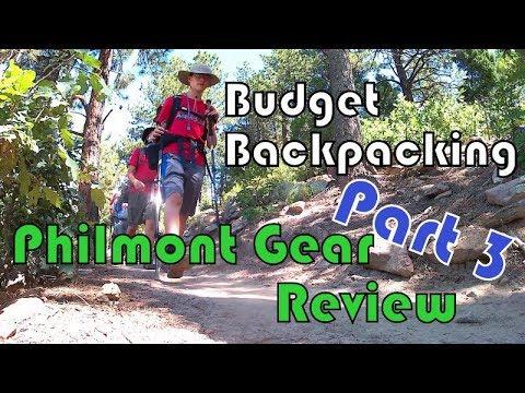 Budget Backpacking - Philmont Trek Gear Review - Part 3