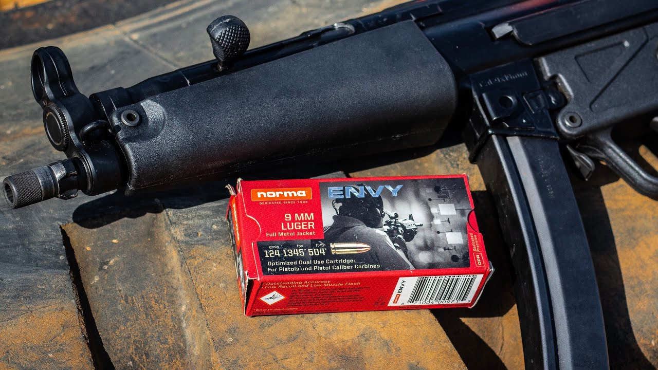 Norma Envy: The Best 9mm Match Ammo For Your Money