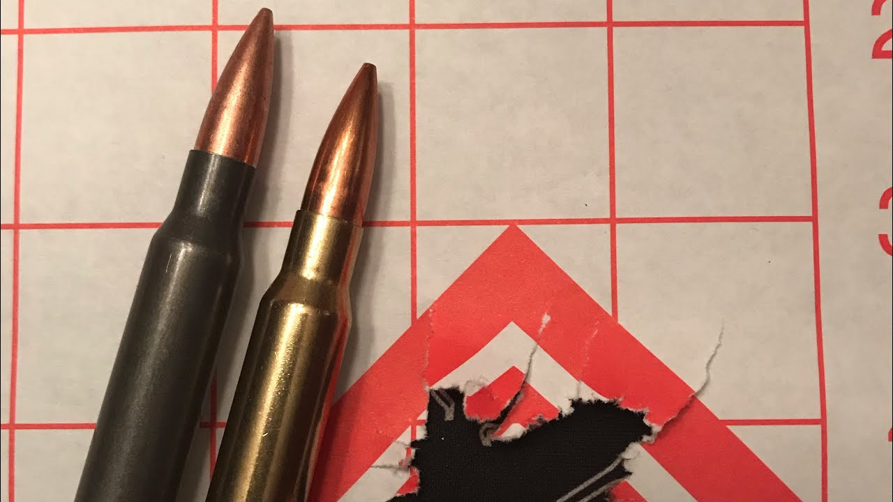 .308 win Federal gold medal match 175gr SMK BTHP vs Tula 150gr FMJ accuracy comparison