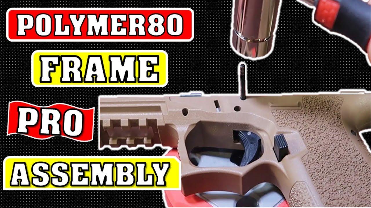 Polymer 80 Glock Pro Frame Assembly