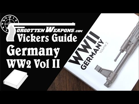 Book Review: Vickers Guide - WWII Germany, Volume 2